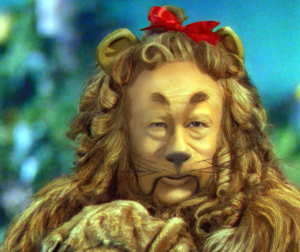 Cowardly Lion Joe